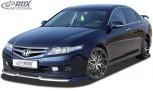 RDX Frontspoiler VARIO-X HONDA Accord 7 2006-2008 Limousine & Tourer Frontlippe Front Ansatz Vorne Spoilerlippe
