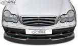 RDX Frontspoiler VARIO-X MERCEDES C-Klasse W203 -03/2004 (Passend an Classic/Elegance Stoßstange) Frontlippe Front Ansatz Vorne Spoilerlippe