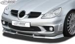 RDX Frontspoiler VARIO-X MERCEDES SLK R171 AMG -2008 (Passend an AMG bzw. Fahrzeuge mit AMG Frontstoßstange) Frontlippe Front Ansatz Vorne Spoilerlippe