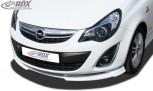 RDX Frontspoiler VARIO-X OPEL Corsa D Facelift 2010+ Frontlippe Front Ansatz Vorne Spoilerlippe