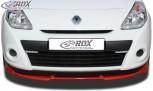 RDX Frontspoiler VARIO-X RENAULT Clio 3 Phase 2 (nicht RS) Frontlippe Front Ansatz Vorne Spoilerlippe