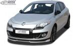 RDX Frontspoiler VARIO-X RENAULT Megane 3 Limousine / Grandtour (2012+) Frontlippe Front Ansatz Vorne Spoilerlippe