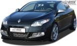 RDX Frontspoiler VARIO-X RENAULT Megane 3 GT / GT-Line 2011+ Frontlippe Front Ansatz Vorne Spoilerlippe