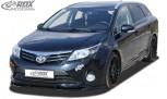 RDX Frontspoiler VARIO-X für TOYOTA Avensis T27 2012-2015 Frontlippe Front Ansatz Vorne Spoilerlippe