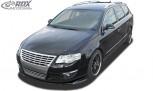 RDX Frontspoiler VARIO-X VW Passat B6 / 3C Frontlippe Front Ansatz Vorne Spoilerlippe
