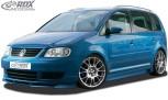 RDX Frontspoiler VARIO-X VW Touran -2006 / Caddy Frontlippe Front Ansatz Vorne Spoilerlippe