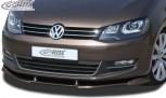 RDX Frontspoiler VARIO-X VW Sharan 7N 2010+ Frontlippe Front Ansatz Vorne Spoilerlippe