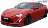 RDX Frontspoiler VARIO-X TOYOTA GT86 Frontlippe Front Ansatz Vorne Spoilerlippe