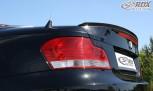 RDX Hecklippe BMW 1er E82 Coupe / E88 Cabrio Heckklappenspoiler Heckspoiler