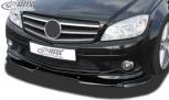RDX Frontspoiler VARIO-X für MERCEDES C-Klasse W204 / S204 AMG-Styling -2011 (Passend an Fahrzeuge mit AMG-Stylingpaket Frontstoßstange) Frontlippe Front Ansatz Vorne Spoilerlippe