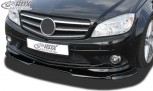 RDX Frontspoiler VARIO-X MERCEDES C-Klasse W204 / S204 AMG-Styling -2011 (Passend an Fahrzeuge mit AMG-Stylingpaket Frontstoßstange) Frontlippe Front Ansatz Vorne Spoilerlippe