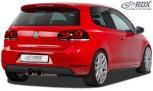 RDX Heckansatz VW Golf 6 GTI / GTD Heckeinsatz Heckblende Diffusor