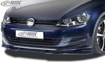 RDX Frontspoiler VARIO-X VW Golf 7 Frontlippe Front Ansatz Vorne Spoilerlippe