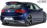 RDX Heckansatz VW Golf 7 Heckeinsatz Heckblende Diffusor