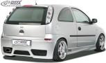 """RDX Heckstoßstange Opel Corsa C """"GT-Race"""" Heckschürze Heck"""