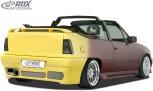 """RDX Heckstoßstange Opel Kadett E mit KZ-Mulde """"GT4"""" Heckschürze Heck"""