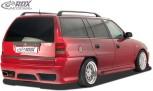 "RDX Heckstoßstange Opel Astra F Caravan / Kombi ""GT-Race"" Heckschürze Heck"