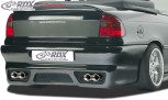 "RDX Heckstoßstange Opel Astra F Cabrio / Stufenheck mit KZ-Mulde ""GT-Race"" Heckschürze Heck"