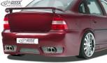 """RDX Heckstoßstange Opel Vectra B mit KZ-Mulde """"GT-Race"""" Heckschürze Heck"""