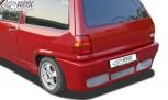 "RDX Heckstoßstange VW Polo 3 / 86c2f Steilheck / Kombi mit KZ-Mulde ""GT4"" Heckschürze Heck"