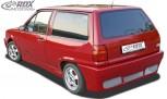 """RDX Heckstoßstange für VW Polo 3 / 86c2f Steilheck / Kombi """"GT4"""" Heckschürze Heck"""