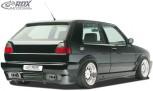 "RDX Heckstoßstange VW Golf 2 mit KZ-Mulde ""GT4"" Heckschürze Heck"