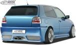 "RDX Heckstoßstange VW Golf 3 mit KZ-Mulde ""GT-Race"" Heckschürze Heck"