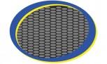RDX Kunststoffgitter schwarz 150 x 30 cm Racegitter Gitter