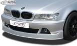 RDX Frontspoiler BMW E46 Coupe / Cabrio Facelift (2003+) Frontlippe Front Ansatz Spoilerlippe