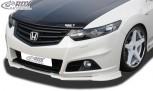 RDX Frontspoiler VARIO-X HONDA Accord CU2 CW2 (für Modulo- bzw. Sportstoßstange) Frontlippe Front Ansatz Vorne Spoilerlippe