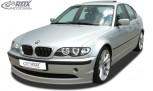 RDX Frontspoiler BMW E46 Limousine / Touring Facelift (2002+) Frontlippe Front Ansatz Spoilerlippe