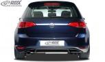 """RDX Heckansatz VW Golf 7 """"GTI-Look"""" Heckeinsatz Heckblende Diffusor"""