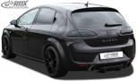 RDX Heckdiffusor U-Diff für SEAT Leon 1P (vor und nach Facelift; auch FR & Cupra & Aero-Kit) Diffusor Heck Ansatz