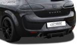RDX Heckdiffusor U-Diff Seat Leon 1P (vor und nach Facelift; auch FR & Cupra & Aero-Kit) Diffusor Heck Ansatz