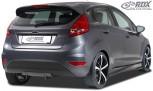 RDX Heckdiffusor U-Diff Fiesta MK7 JA8 JR8 (2008-2012 & Facelift 2012+) Diffusor Heck Ansatz