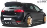 RDX Heckansatz für SEAT Leon 1P FR / Cupra Diffusor Heckblende Heckdiffusor