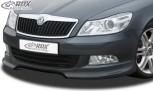 RDX Frontspoiler Skoda Octavia 2 / 1Z Facelift 2008+ (nicht RS) Frontlippe Front Ansatz Spoilerlippe