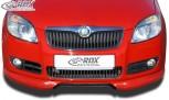 RDX Frontspoiler Skoda Fabia 2 Typ 5J -2010 (auch für Roomster) Frontlippe Front Ansatz Spoilerlippe