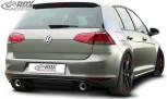 "RDX Heckansatz VW Golf 7 Heckeinsatz incl. Auspuff ""GTI-Look"" Komplett-Set"