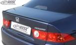 RDX Hecklippe HONDA Accord 7 2002-2008 Limousine Heckklappenspoiler Heckspoiler