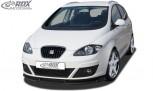 RDX Frontspoiler VARIO-X SEAT Altea 5P Facelift 2009+ incl. Altea XL Frontlippe Front Ansatz Vorne Spoilerlippe