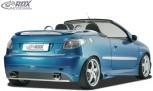 "RDX Heckstoßstange Peugeot 206 / 206CC ""GTI-Five"" Heckschürze Heck"