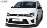 RDX Frontspoiler VARIO-X VW Polo 6R WRC Frontlippe Front Ansatz Vorne Spoilerlippe