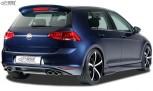 """RDX Heckansatz VW Golf 7 """"R-Look"""" Heckeinsatz Heckblende Diffusor"""