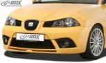 RDX Frontspoiler für SEAT Ibiza 6L FR / Facelift Frontlippe Front Ansatz Spoilerlippe