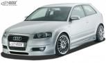 "RDX Frontstoßstange Audi A3 8P ""SingleFrame Design 1"" Frontschürze Front"