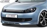 RDX Frontspoiler für VW Golf 6 Frontlippe Front Ansatz Spoilerlippe