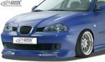 RDX Frontspoiler für SEAT Ibiza 6L (bis 2006) Frontlippe Front Ansatz Spoilerlippe