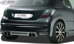 RDX Heckansatz Peugeot 207 / 207CC Heckschürze Heck