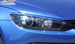 RDX Scheinwerferblenden VW Scirocco 3 (2009-2014) Böser Blick